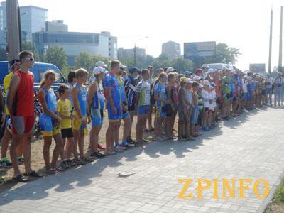В Запорожье проведут соревнования по триатлону