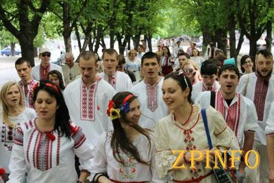 В Запорожье пройдет парад вышиванок