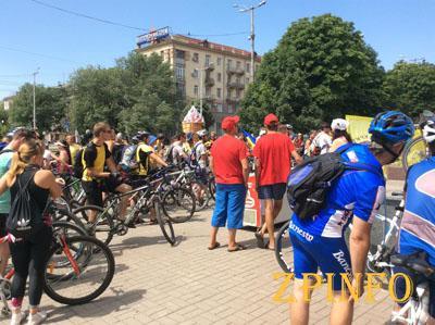"""В Запорожье пройдет велопробег """"Критична маса"""""""
