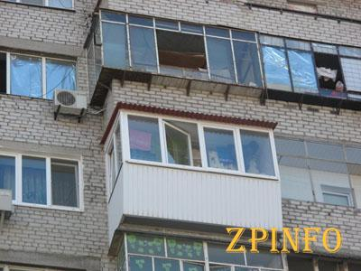В Запорожье с третьего этажа выпал мужчина