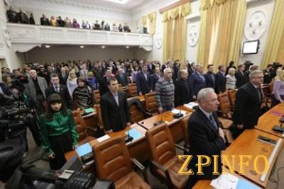 В Запорожье сессия горсовета началась с обвинений нового мэра