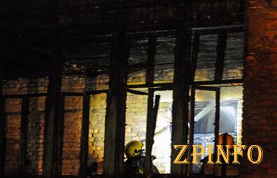 В Запорожье сгорел детский сад
