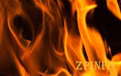 В Запорожье сгорела дотла квартира