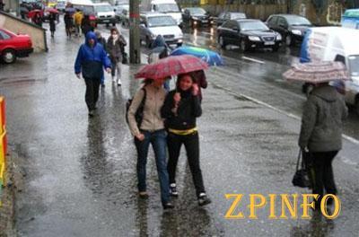 В Запорожье синоптики прогнозируют дождливый апрель