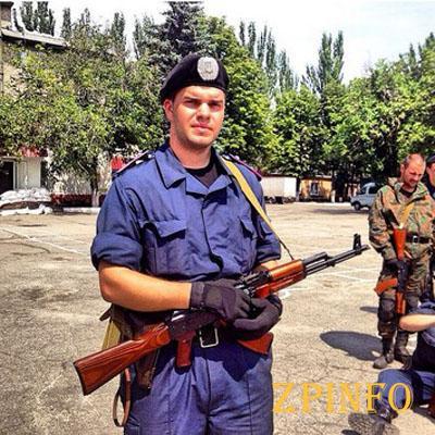 В Запорожье сквер назвали именем 23-летнего погибшего воина АТО