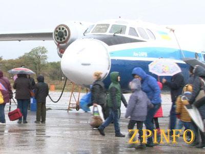 В Запорожье состоялась экскурсия по авиапарку