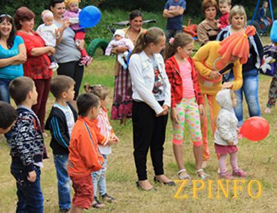 В Запорожье состоялся детский праздник