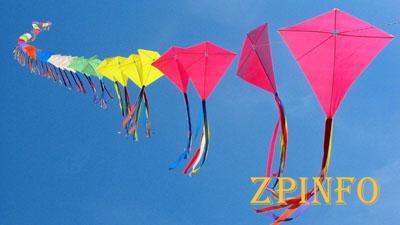 В Запорожье состоялся фестиваль воздушных змеев