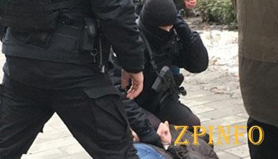 В Запорожье спецназ задержал наркоторговца