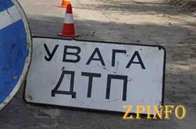 В Запорожье столкнулись маршрутка и джип