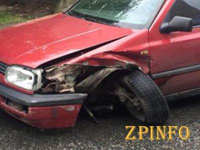 В Запорожье столкнулись сразу 4 авто