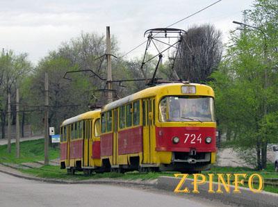 В Запорожье трамвай перестанет ходить в Шевченковский район