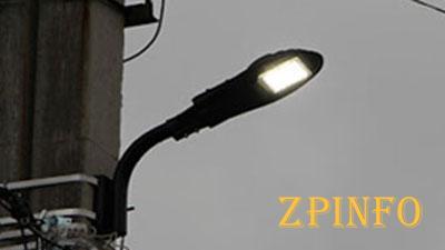 В Запорожье установили светильники
