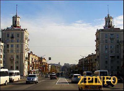 В Запорожье в День независимости перекроют проспект Ленина