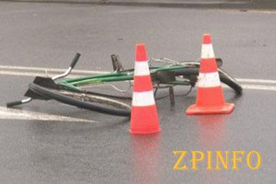 В Запорожье в ДТП пострадал велосипедист