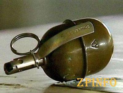 В Запорожье в районе каскадов «Радуга» обнаружили гранату