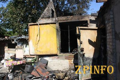 В Запорожье в результате пожара в больницу попали 3 детей