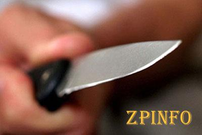 В Запорожье вечером женщина получила удар ножом в грудь