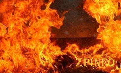 В Запорожье во время пожара погибла девушка