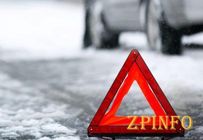 В Запорожье водитель легкового авто протаранил дерево