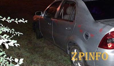 В Запорожье водитель влетел в клумбу