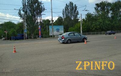 В Запорожье возле автовокзала произошло ДТП