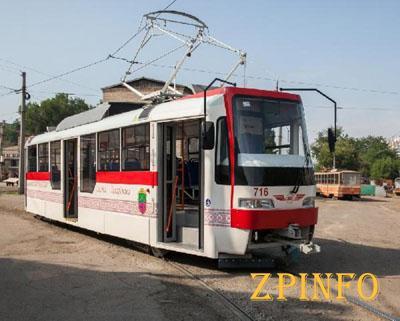 В Запорожье временно не будет ходить 2 трамвая
