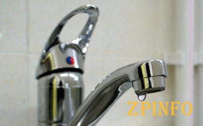 В Запорожье временно отключат воду
