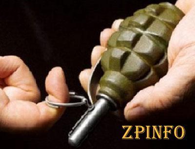 В Запорожье задержали мужчину с гранатой в руках