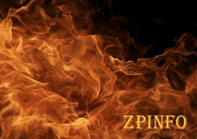В Запорожье загорелись древесные отходы