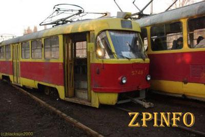 В Запорожье закрыто движение 2 трамвайных маршрутов