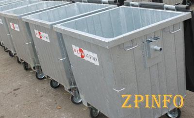 В Запорожье закупят контейнеры для мусора