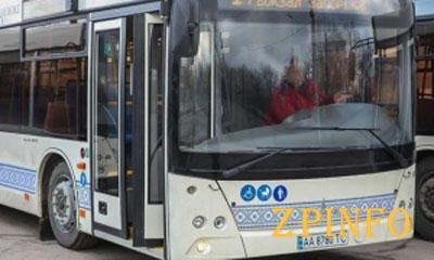 В Запорожье заработали долгожданные автобусы