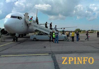 В Запорожском аэропорту растет количество вылетов