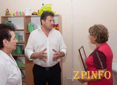 В Запорожской амбулатории появится уникальная игровая комната