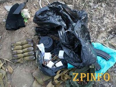 В Запорожской и Донецкой областях СБУ выявило тайники с боеприпасами