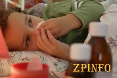 В Запорожской области более 70% заболевших ОРВИ являются дети