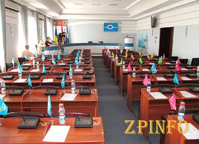 В Запорожской области депутаты сорвали сессию горсовета