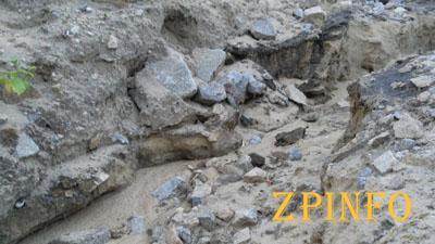 В Запорожской области дожди разрушили дамбу