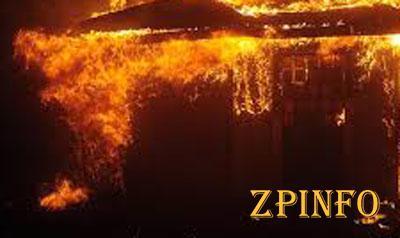 В Запорожской области горел киоск
