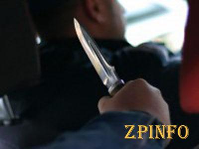 В Запорожской области грабитель порезал таксиста