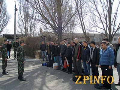 В Запорожской области милиция разыскала 74 уклониста