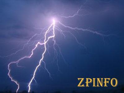 В Запорожской области молния попала в женщину и корову