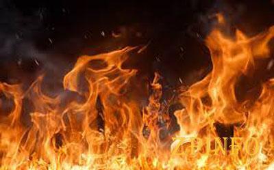 В Запорожской области на пожаре пострадал мужчина