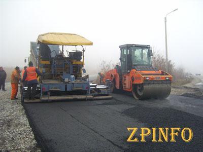 В Запорожской области на шесть суток перекрыли трассу