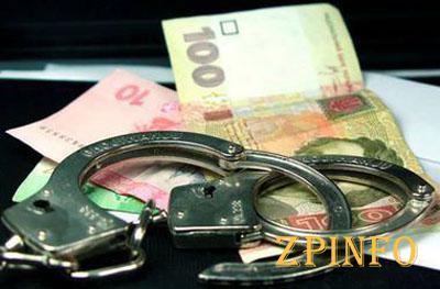 В Запорожской области на взятке поймали майора