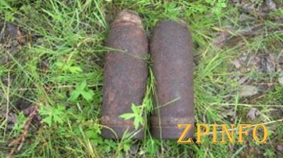 В Запорожской области нашли артснаряды