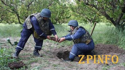В Запорожской области обнаружили восемь авиабомб