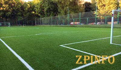 В Запорожской области открыли 3 футбольные площадки