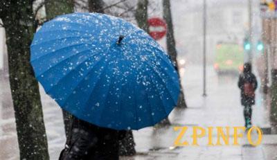 В Запорожской области ожидают дождь и мокрый снег